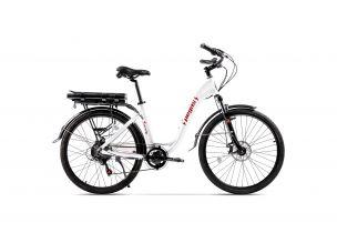 Bicicleta Pegas Comoda Dinamic Alb Perlat