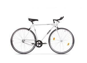 Bicicleta Pegas Clasic 2S Bullhorn 21'' B Alb