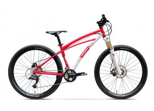 Bicicleta Pegas Drumet Rosu Mat