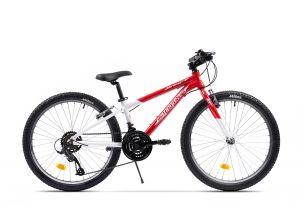Bicicleta Pegas Drumet 24'' Rosu Alb