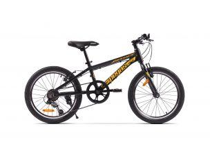Bicicleta Pegas Mini Drumet 20'' Negru Mat