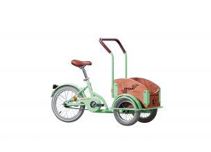 Bicicleta Pegas Mini Cargo Verde Fistic