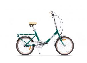 Bicicleta Pegas Practic Retro Aluminiu Verde Mineral