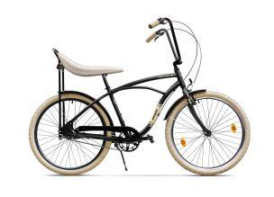 Bicicleta Pegas Strada 1 - Negru Mat (AL)