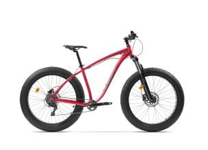 Bicicleta Pegas Suprem AM 18'' Rosu Mat