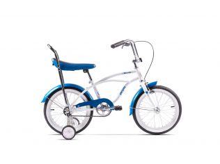 Bicicleta Pegas Mezin Alb /Albastru