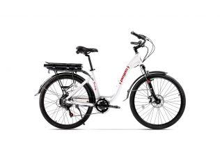 Resigilat Bicicleta Pegas Comoda Dinamic Alb Perlat