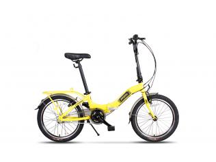 Bicicleta Pegas Camping Galben