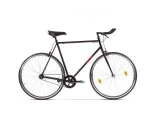"Bicicleta Pegas Clasic 2S Bullhorn 24"" B Negru"