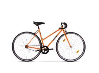 Resigilat Bicicleta Pegas Clasic 2S Drop 19.5'' F Portocaliu