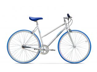 Bicicleta Pegas Clasic Alb Perlat