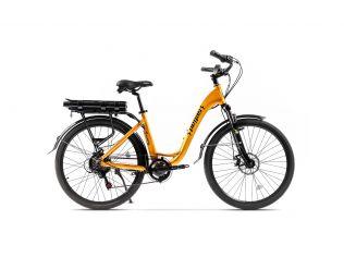 Bicicleta Pegas Comoda Dinamic Galben Stup