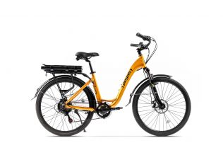 Resigilat Bicicleta Pegas Comoda Dinamic Galben Stup