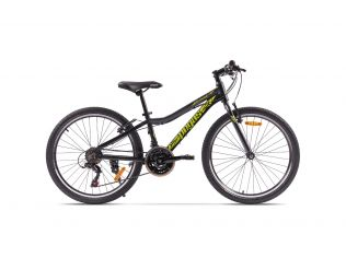Bicicleta Pegas Mini Drumet 24'' Negru Mat