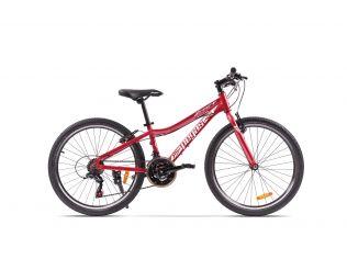 Bicicleta Pegas Mini Drumet 24'' Rosu