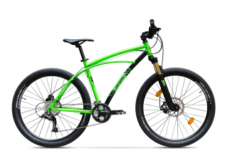 Drumet Verde Neon - Biciclete Mountain Bike
