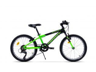 Bicicleta Pegas Mini Drumet 20'' Mtb Negru Verde