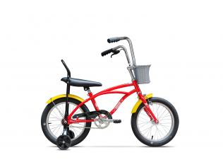 Biciclete pentru copii - Pegas Mezin Rosu Bomboana