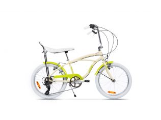 Bicicleta Pegas Strada Mini Crem Inghetata