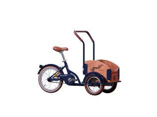Bicicleta Pegas Mini Cargo Albastru Calator