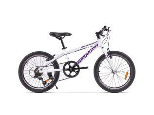 Bicicleta Pegas Mini Drumet 20'' Alb Perlat