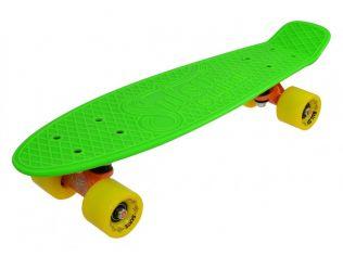 Penny Board Slv Neon 22 INCH verde cu galben