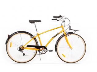 "Resigilat Bicicleta Pegas Popular Portocaliu Neon 16"""