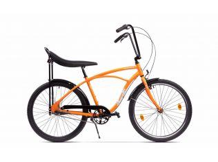 Resigilat Bicicleta Pegas Strada 1 - Portocaliu