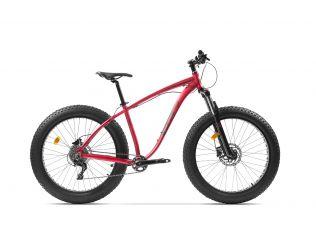Resigilat Bicicleta Pegas Suprem AM 18'' Rosu Mat