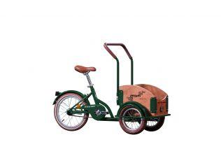 Bicicleta Pegas Mini Cargo Verde Smarald