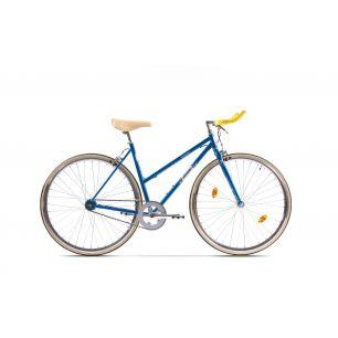 Resigilat Bicicleta Pegas Clasic 2S Bullhorn 50cm F Bleu