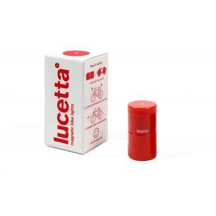 Lucetta - Lumina Magnetica Pentru Bicicleta. Rosu
