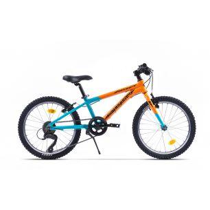 Bicicleta Pegas Mini Drumet 20'' Portocaliu Turcoaz
