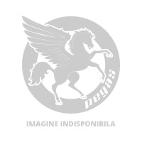 Tija Ghidon Otel-Al. Include Adaptor - Negru/Argintiu